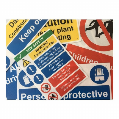 Cheap Site Safety Signs