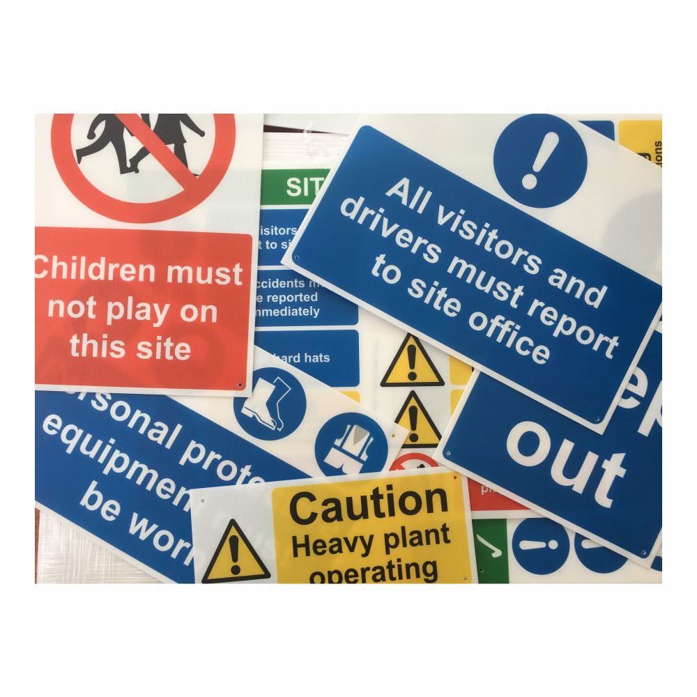 Site Safety Signs For Sale