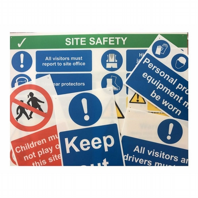 Buy Large Site Safety Signs